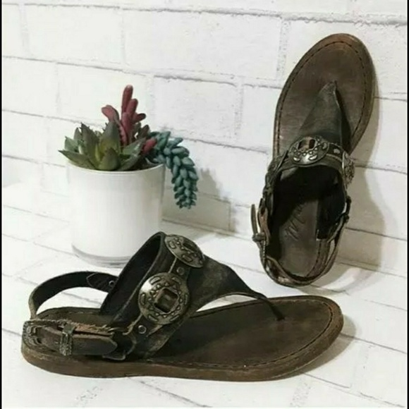 Shoes - Matisse Ringo Distressed Concho Sandal Free People